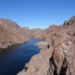 Colorado River from one of the nearby hiking trails