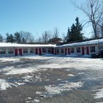                    Motel lot and rooms