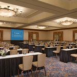  The Grand Plaza Ballroom with a classroom setup