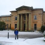 Yorkshirewalker in front of Longhirst Hall
