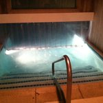                    INDOOR entrance to the OUTDOOR HEATED pool.
