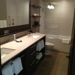 Two Sink Bathroom / Self Cleaning Tub