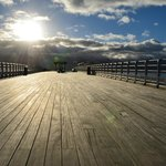 The pier at Beaumaris, 5 mins from