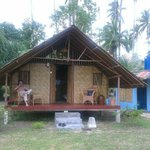                    Our pondok for a week