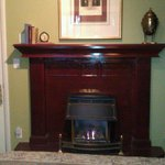 Library Room Fireplace
