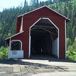                    Office Covered Bridge near Oakridge Oregon