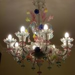                    Murano Glass Lighting in Hotel