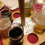Beer sampling wheel