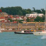  Annie&#39;s B&amp;B from Cowes Harbour
