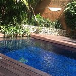 private pool at the 'original' Villas, Seminyak