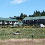                    View of Motel