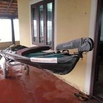 Roomy verandah for my watersports equipment