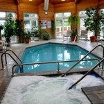  Enjoy the indoor pool