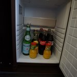                    complementary minibar