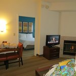                    2 bedroom fireplace suite