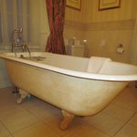                    Very large roll-top bath