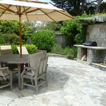  Patio of Alberti Cottage with BBQ