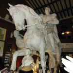                    Sculpture by Canova ( bar nextdoor )