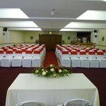                    Function suite ready for the ceremony