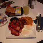 Dan's full english breakfast