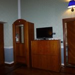                    Armoire (safe inside), TV and dresser
