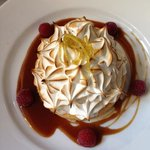 meringue tartlet....