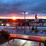 Sunset at Chilis Linthicum.