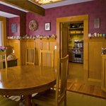  Dining Room with a peek into the Kitchen