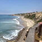 View of Crystal Cove Beach
