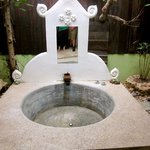                   Outdoor (private and covered) tub