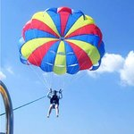 Chute for the Skye Parasailing