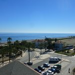                                      View from roof towards sea