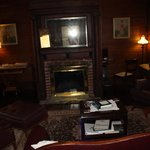                   Lounge area, Mountain Rose Inn