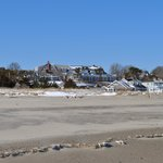                    Chatham Beach with Snow
