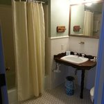                                      Roomy bathroom