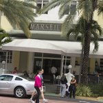                    Front view of the Marseiles hotel