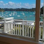 view of bay of islands from room & verandah