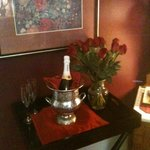 Champagne and Roses Package