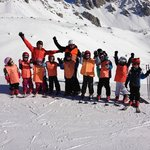                    Notre groupe du ski !!!!