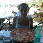 The best pizza in Baia Sardinia!