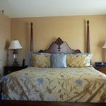 Our King size four poster bed!!!!