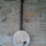                    This banjo was Jane&#39;s first banjo that she got when she was in highschool!