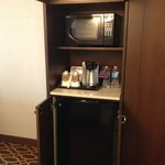 Room Amenities: Mini Fridge, Coffee Maker, Microwave
