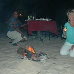                    Beach Bonfire and supper - Heaven