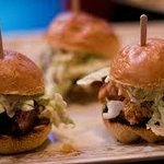 BBQ Sliders at Weeknight Guest Appreciation Reception
