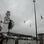                    Voladores at the Main Plaza