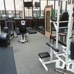 Work out room looked good