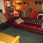                    The boot room!