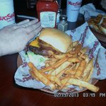I had the McDonald...bbq, bacon, ranch, 8 oz burger on sour