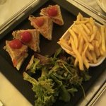                    the most expensive club sandwich